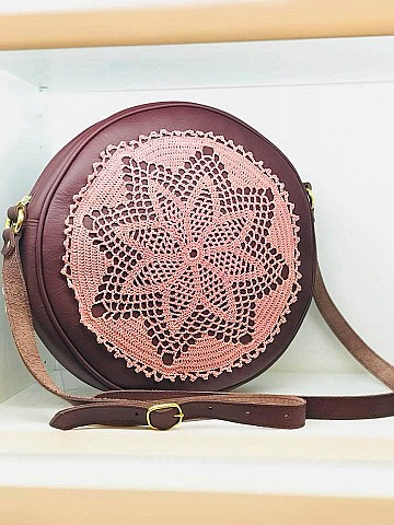 Round Lace Bag